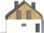 Projekt domu Vital - elewacja boczna 2