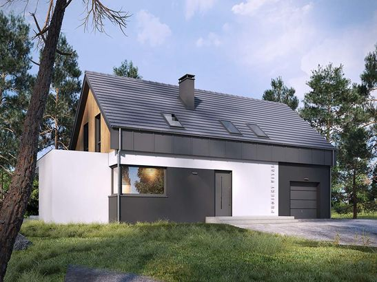 Projekt domu Vital - widok 2