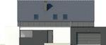Projekt domu Vital 2g - elewacja przednia