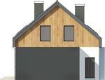 Projekt domu Vital 2g - elewacja boczna 2