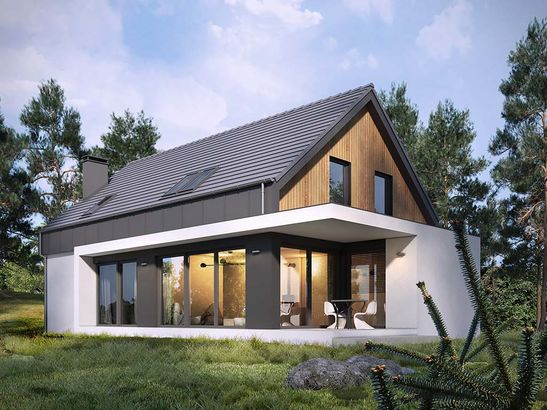 Projekt domu Vital 2g - widok 1
