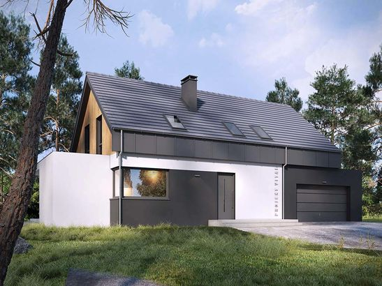 Projekt domu Vital 2g - widok 2