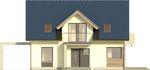 Projekt domu Melba - elewacja przednia