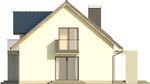 Projekt domu Melba - elewacja boczna 1