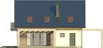 Projekt domu Melba - elewacja tylna