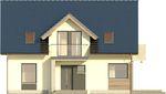 Projekt domu Melba 2 - elewacja przednia