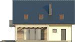 Projekt domu Melba 2 - elewacja tylna