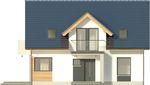 Projekt domu Melba 3 - elewacja przednia