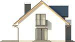 Projekt domu Melba 3 - elewacja boczna 1