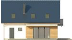Projekt domu Melba 3 - elewacja tylna