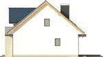 Projekt domu Melba 3 - elewacja boczna 2