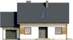 Projekt domu Melonik - elewacja przednia