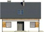 Projekt domu Melonik 2 - elewacja przednia