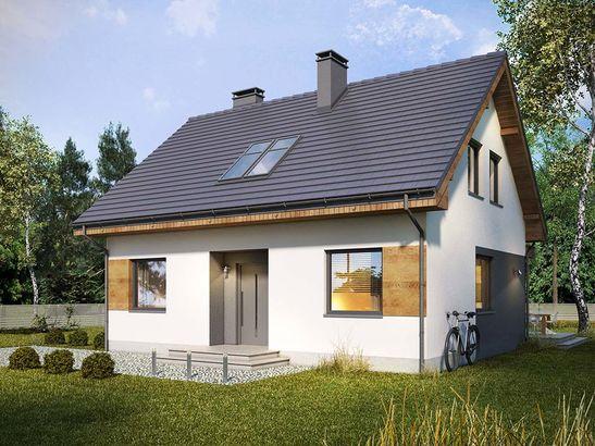 Projekt domu Melonik 2 - widok 1
