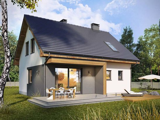 Projekt domu Melonik 2 - widok 2