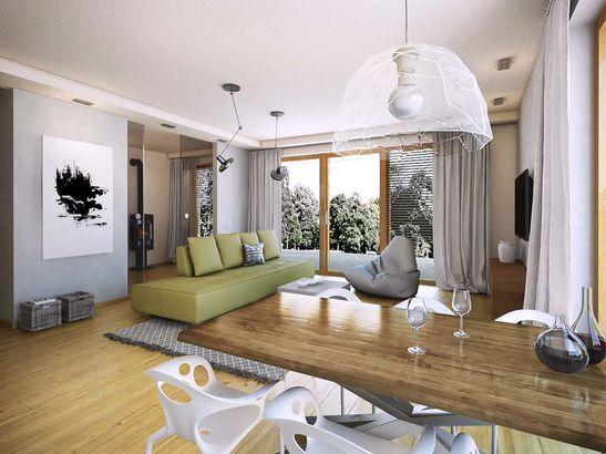 Projekt domu Etiuda - widok 3