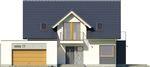 Projekt domu Etiuda 2g - elewacja przednia