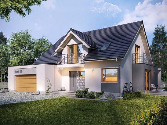 Projekt domu Etiuda 2g - widok 1