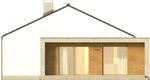Projekt domu Trendsetter 2 - elewacja boczna 1
