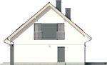 Projekt domu Lawenda 2 - elewacja boczna 2