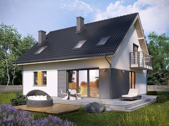 Projekt domu Lawenda 2 - widok 1