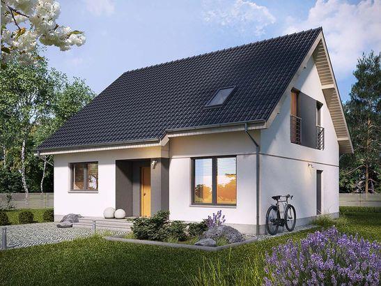 Projekt domu Lawenda 2 - widok 2