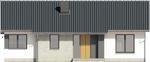 Projekt domu Szafirek - elewacja przednia