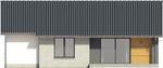 Projekt domu Szafirek - elewacja tylna