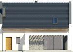 Projekt domu Primo - elewacja tylna
