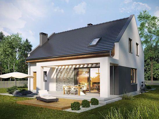 Projekt domu Primo - widok 1