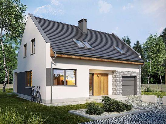 Projekt domu Primo - widok 2