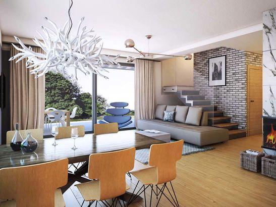Projekt domu Primo - widok 3