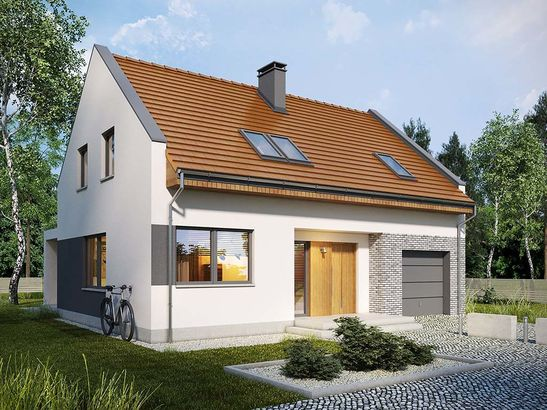 Projekt domu Primo - widok 4