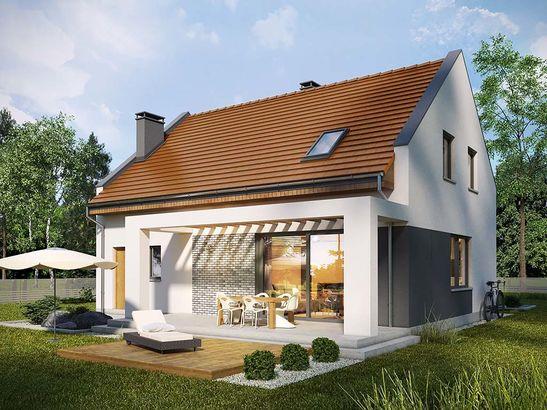 Projekt domu Primo - widok 5