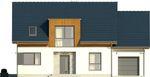 Projekt domu Format - elewacja przednia