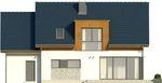 Projekt domu Format - elewacja tylna