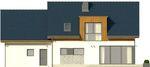 Projekt domu Format 2G - elewacja tylna