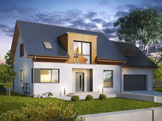 Projekt domu Format 2G - widok 1