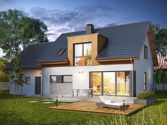 Projekt domu Format 2G - widok 2
