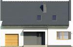 Projekt domu Joker - elewacja przednia
