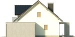 Projekt domu Sonata - elewacja boczna 2