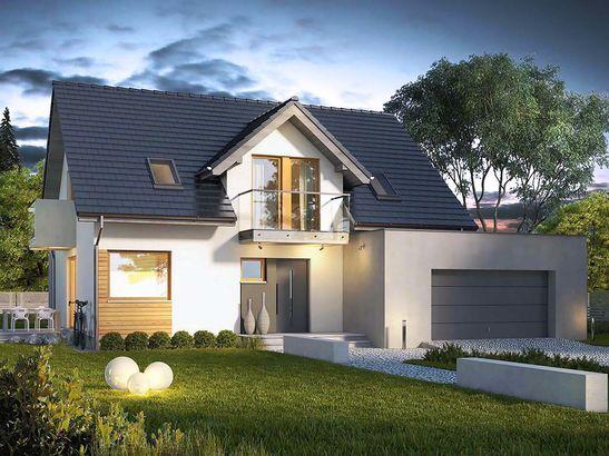 Projekt domu Sonata - widok 1