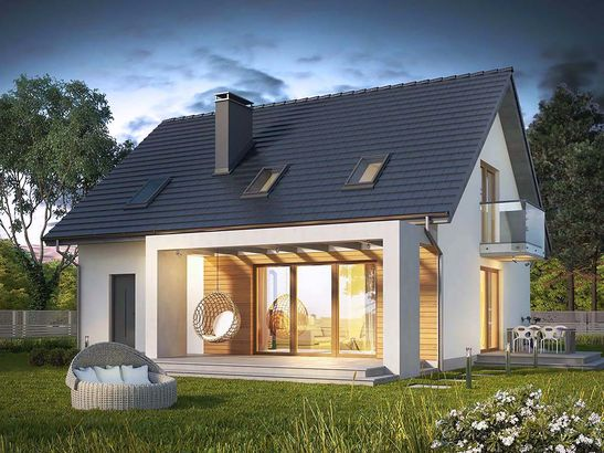 Projekt domu Sonata - widok 2
