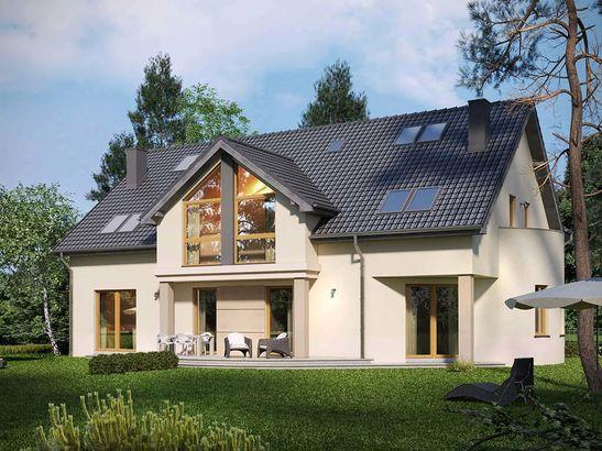 Projekt domu Maxima Nova 1 - widok 2