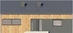 Projekt domu Studio 54 - elewacja przednia