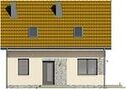 Projekt domu Sempre - elewacja przednia