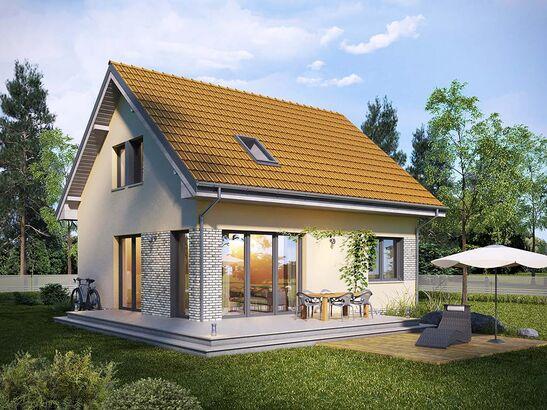 Projekt domu Sempre - widok 1