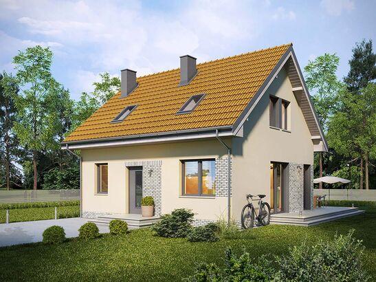 Projekt domu Sempre - widok 2