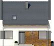 Projekt domu Bodo - elewacja przednia