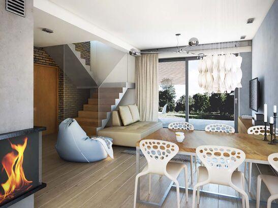 Projekt domu Bodo - widok 3
